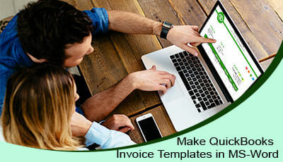 Quickbooks invoice templates in ms word