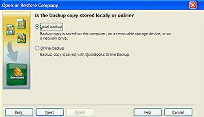 Restore a (.QBB) File in QuickBooks